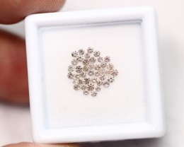 Lot 07 ~ 0.53Ct Natural VS Clarity Champaign Diamond