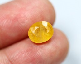 Lot 14 ~ 3.66Ct Natural Golden Yellow Sapphire Composite