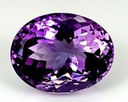 16.40Crt Natural Amethyst  Best Grade Gemstones JI113