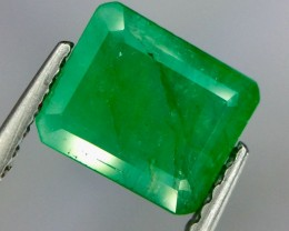 1.30 Crt Natural Emerald Faceted Gemstone.( AG 72)