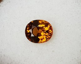 2,75ct Golden orange Mali garnet - Great colour!