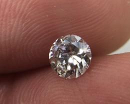Exqusite IGL Certified $746 Natural 0.50ct. Round Brilliant White Diamond