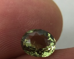 (B1) GFCO Certified Stunning 1.63ct Natural Alexandrite Very RARE!