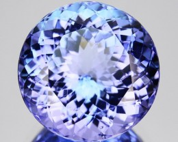 ~BEAUTIFUL~ 5.44 Cts Natural Nice Purple Blue Tanzanite Round Cut Tanzania