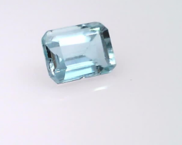 0.46 ct Aquamarine (Emerald shape)