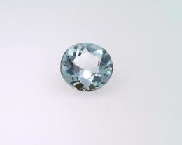 0.38 carat Aquamarine, Round shape