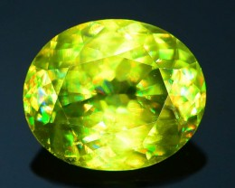Rare AAA Fire 2.71 ct Sphene Sku-22