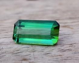 2.80 Ct Natural Transparent Green Tourmaline Ring Size Gemstone