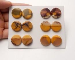 162ct latest Natural mookite jasper round shape cabochon beads semi-preciou
