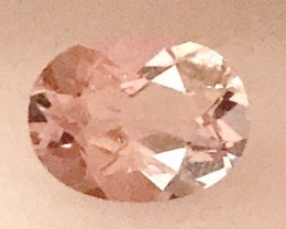 1.20ct Oval Pink Morganite - G196