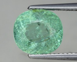 Certified 4.43 Ct Paraiba Tourmaline Attractive Higher Color ~ Mozambique