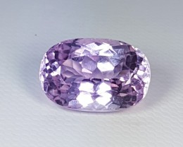 9.12 ct Untreated Top Quality Gem Oval Cut Natural Kunzite