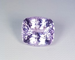 10.68 ct Untreated Collective Gem Oval Cut Natural Kunzite