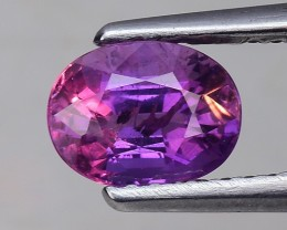 1.25 Cts Untreated Top Color Sparkling Intense Color Change Sapphire ~