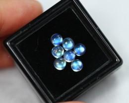 2.59cts Vivid Blue Light Moonstone Cab Parcel