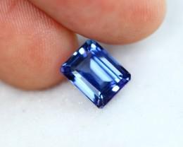 2.49cts Violet Blue Natural Tanzanite