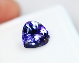 2.45cts Violet Blue Natural D Block Tanzanite