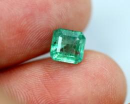 1.15cts Zambian Vivid Green Emerald