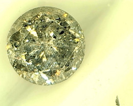 1.16ct Fancy Gray  Diamond , 100% Natural Untreated