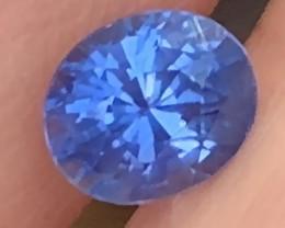 A KASHMIR BLUE SAPPHIRE CERTIFIED  1.47CTS BEAUTIFUL