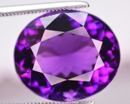 10.70 Ct Top Quality Natural Amethyst ~ Uruguay AM1