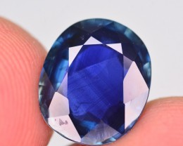 GIL Certified 3.98 Ct AAA Color Natural Sapphire