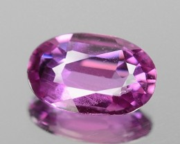 0.84 CT SAPPHIRE PINK COLOR GIL CERTIFIED GEMSTONE