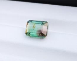 3.20 Ct Natural Bi Color Transparent Tourmaline Gemstones
