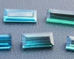 6.20 Carats Blue Indicolite Tourmaline Gemstones Parcel (1)