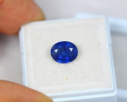 2.51Ct Blue Sapphire Composite Oval Cut Lot B43