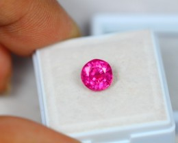 2.32Ct Pink Ruby Composite Round Cut Lot B50