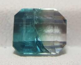 2 Carats  Bi Color Tourmaline Gemstones (5)