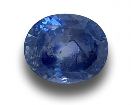2.10 Carats   Natural Unheated Blue Sapphire Loose Gemstone New  Sri Lanka