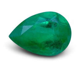1.90 ct Pear Emerald IGI Certified