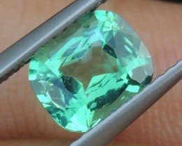 1.43cts,  Neon Apatite,  Jaw Dropping Luster, Calibrat