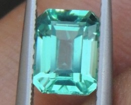 1.50cts,  Neon Apatite,  Jaw Dropping Luster, Calibrat