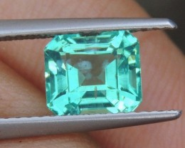 1.78cts,   Neon Apatite,  Jaw Dropping Luster, Calibrat