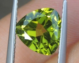 2.39cts,  Peridot,  Untreated,  Calibrated