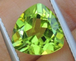 9mm,   Peridot,  Untreated,  Calibrated