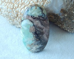 193ct Natural turquoise cabochon bead semi-precious stones (A114)