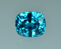 5.60 Cts Gorgeous Attractive Natural Blue Zircon