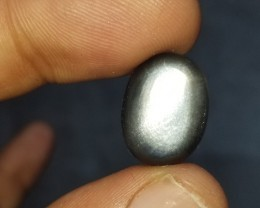 BLACK SUNSTONE CABOCHON  Natural+Untreated VA916
