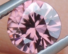1.18cts Pink  Zircon,  Top Cut,  Clean,  Unheated