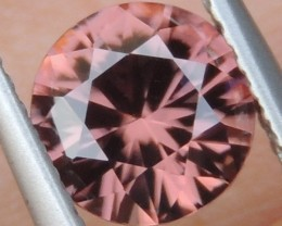 1.57cts Pink  Zircon,  Top Cut,  Clean,  Unheated