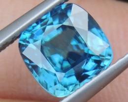2.60cts,  Blue Zircon,