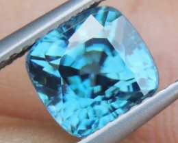 2.77cts,  Blue Zircon,  Eye Clean,