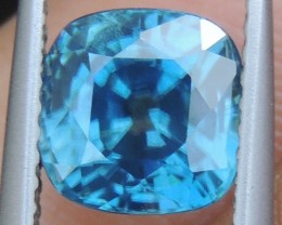2.96cts,  Blue Zircon,  Eye Clean, Calibrated