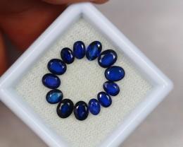 3.08ct Blue Sapphire Oval Cut Mix Size Lot V2630