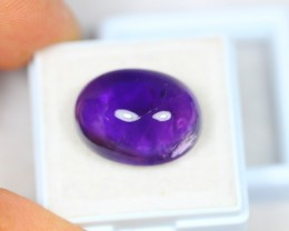 18.67ct Purple Amethyst Cabochon Lot S26