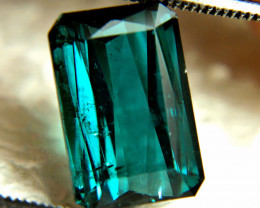 6.64 Ct. Indicolite Blue African Tourmaline - Gorgeous